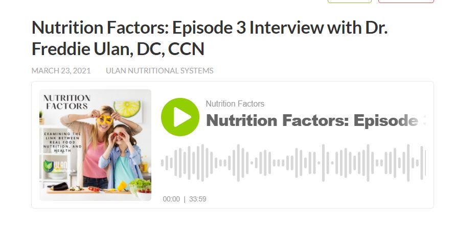 nutrition factors podcast