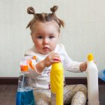 harmful chemical clearseres in the home